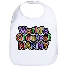Worlds Greatest Nanny Bib