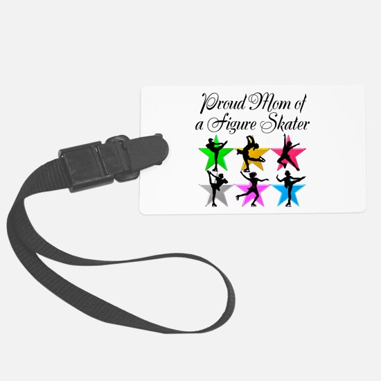SKATING QUEEN MOM Luggage Tag