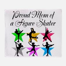 SKATING QUEEN MOM Throw Blanket