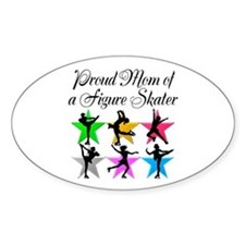 SKATING QUEEN MOM Decal