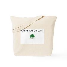 Happy Arbor Day Tote Bag