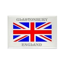 Glastonbury England Rectangle Magnet