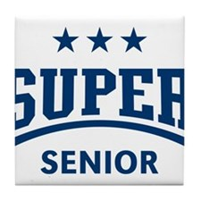 Super Senior (Blue) Tile Coaster