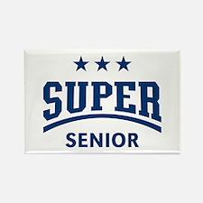 Super Senior (Blue) Rectangle Magnet