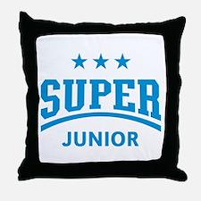Super Junior (Lightblue) Throw Pillow