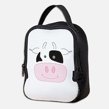 cutecowface.png Neoprene Lunch Bag