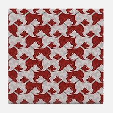 Barking Bulldogs Tile Coaster