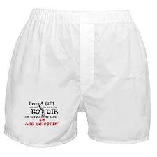 I keep a gun Boxer Shorts