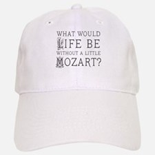 Life Without Mozart Baseball Baseball Cap