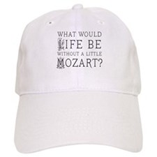 Life Without Mozart Baseball Cap