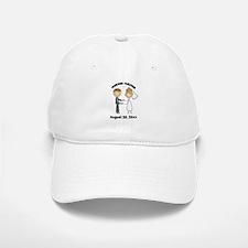 Personalized Bride and Groom Baseball Baseball Cap