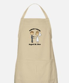 Personalized Bride and Groom Apron