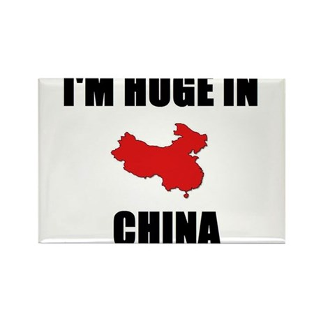 I'm Huge In China Rectangle Magnet (100 pack)