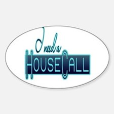 House Call Oval Decal