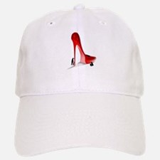 Giant Red Stiletto Art Baseball Baseball Baseball Cap