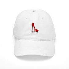 Giant Red Stiletto Art Baseball Baseball Cap