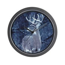 MHP Snow Buck Wall Clock