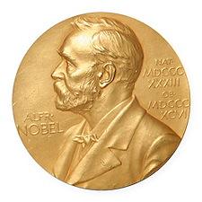 Nobel Prize Round Car Magnet