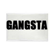 Gangsta Rectangle Magnet (10 pack)