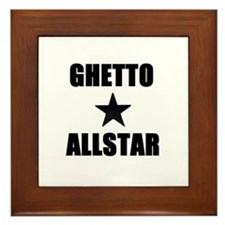 Ghetto Allstar Framed Tile