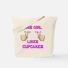This Girl Likes Cupcakes Tote Bag