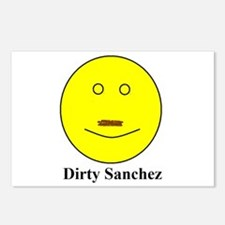 Dirty Sanchez Postcards (Package of 8)