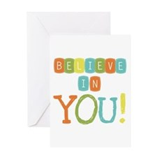 Believe in YOU Greeting Card