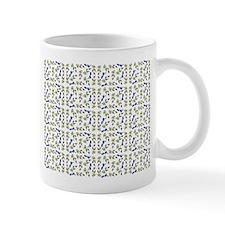 Blueberries On Vine Repeat Pattern Mug