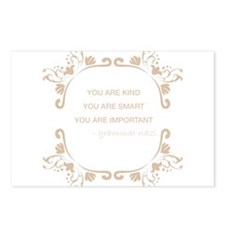 You are kind, smart, important Postcards (Package