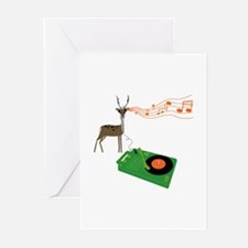 Reindeer Rock Greeting Cards (10 Pk)