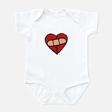 """""""Mended Heart"""" Infant Bodysuit"""