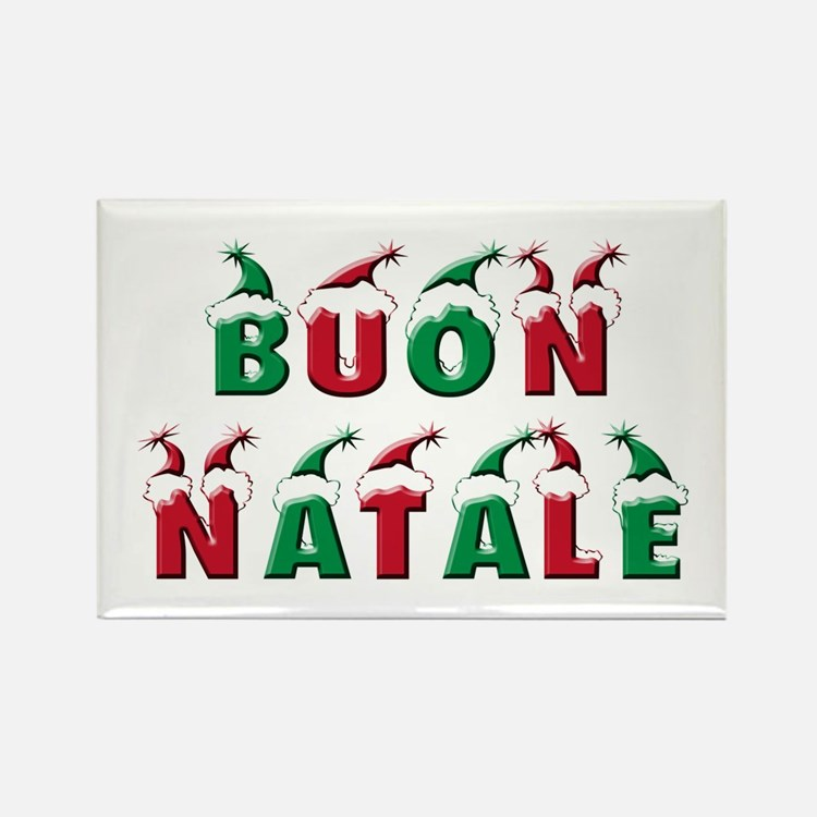 Cute Natale Rectangle Magnet