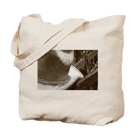 Gardening Hat with Plow Tote Bag