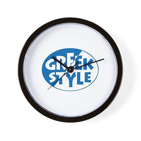 GreekStyle Wall Clock