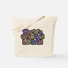 Worlds Greatest Logan Tote Bag