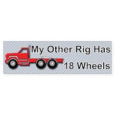 Truckers Bumper Bumper Bumper Sticker