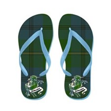 Johnston Unicorn Flip Flops