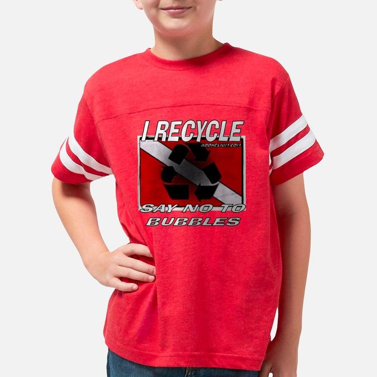I RECYCLE Youth Football Shirt