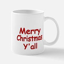 Merry Christmas Yall Mug