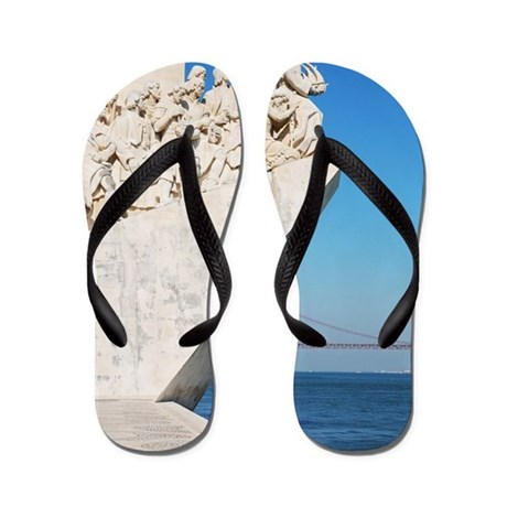 Monument to the Discoveries Flip Flops