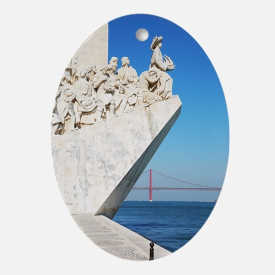 Monument to the Discoveries Oval Ornament