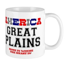 AMERICA REGIONS - GREAT PLAINS Small Mug