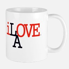 i Love LA Iconic RedBlk Lrg Los Angeles Mug