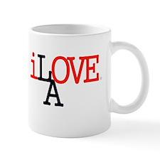 i Love LA Iconic RedBlk Lrg Los Angeles Mug