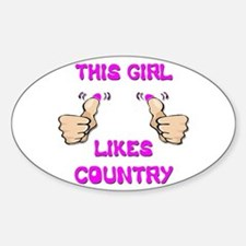 This Girl Likes Country Decal