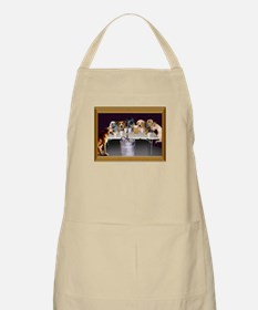 Dogs Playing Flip Cup BBQ Apron