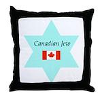 Canadian Jew Throw Pillow