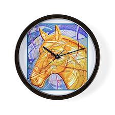 Tribal Art BW Wall Clock