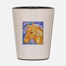 Tribal Art BW Shot Glass