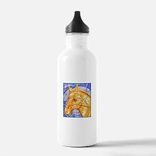 Tribal Art BW Water Bottle
